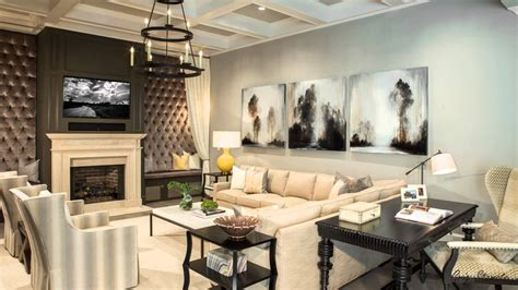 Chic Luxury, Trendy Rooms With Tufted Wall Panels