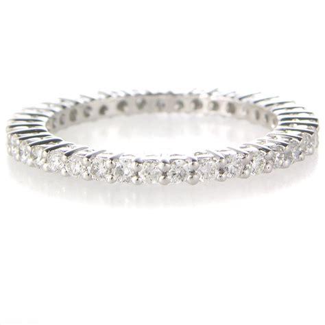 68ct diamond platinum eternity wedding band ring