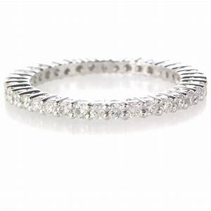 68ct diamond platinum eternity wedding band ring With platinum ring wedding band
