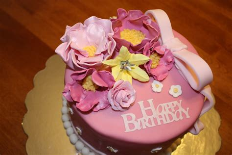 happy birthday cake  flower   special person