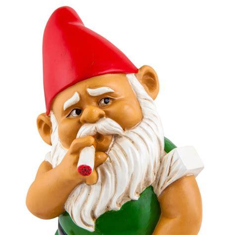 gnome smoking garden gnome bigmouth
