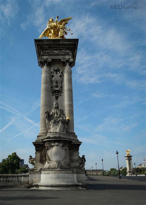 Photos of France de Charlemagne statue on Pont Alexandre ...