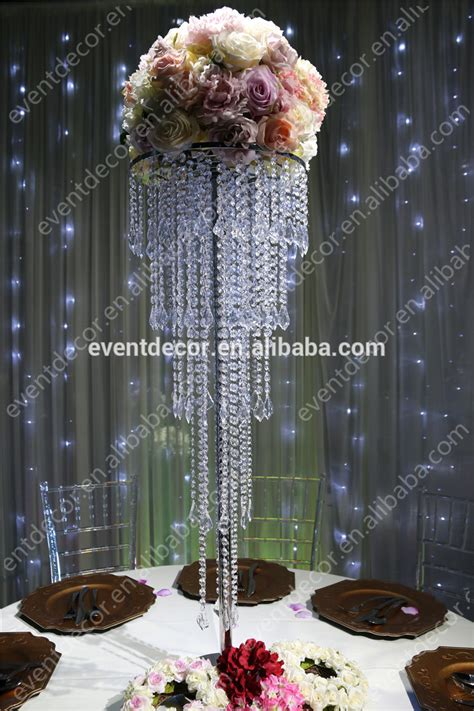 5 Tiers Crystal Centerpieces For Wedding Tablewholesale