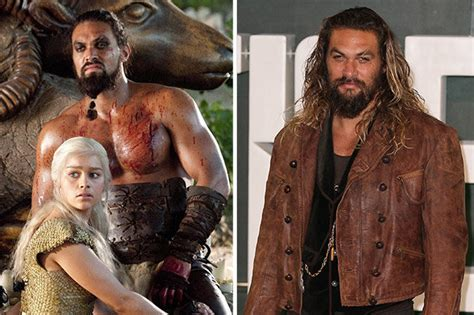 game  thrones cast jason momoa breaks silence  khal