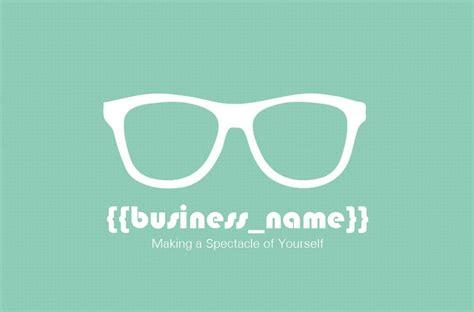 opticians business card  designed    nics