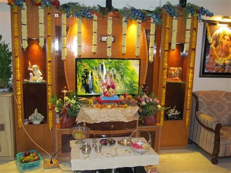 Decorating Themes :  Ganpati Bappa Decoration Ideas/themes For Home