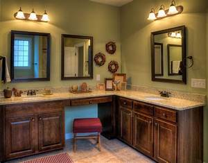Rustic bathroom colors and paint colors for a small for Interior paint colors for rustic homes