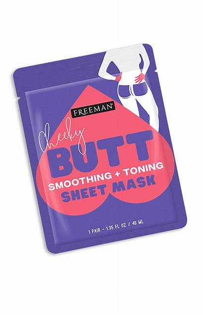 Butt Mask Sheet Cheeky Toning Smoothing Freeman