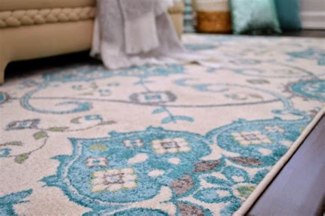 turquoise and gray area rug fox hollow cottage house of turquoise