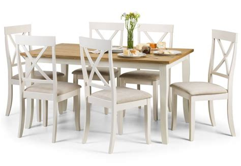 light oak kitchen table and chairs julian bowen davenport dining sets light oak table top 9693