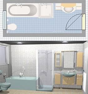 Plan 3d Salle De Bain : des logiciels pour faire le plan de sa salle de bains en ~ Melissatoandfro.com Idées de Décoration