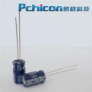 china 16v 220uf aluminum electrolytic - 28 images ...