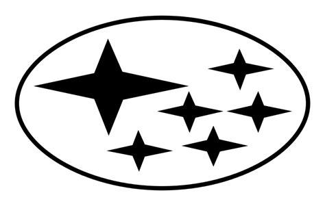 subaru logo transparent file subaru logo abstraktion svg wikimedia commons