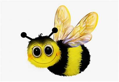 Bumblebee Insect Clipart Abeja Transparent Cartoon Wings