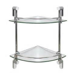 Corner Glass Shelf Bathroom