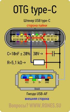 Usb Type A Connector Wiring Diagram by Micro Usb Otg Pinout How To Make Your Own Usb Otg Ttt