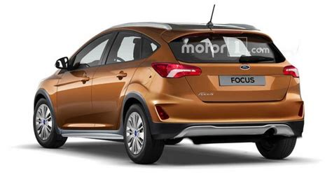 ford crossover ford focus active rendered with crossover cues