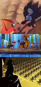 When Pokémon Meets The Lion King - Barnorama