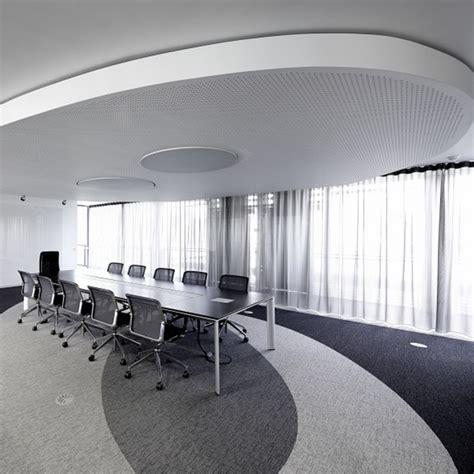 salle de bureau rideaux