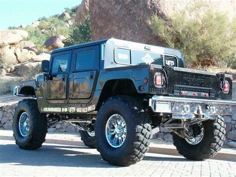 2006 Hummer H4 Black Concept Truck Picture