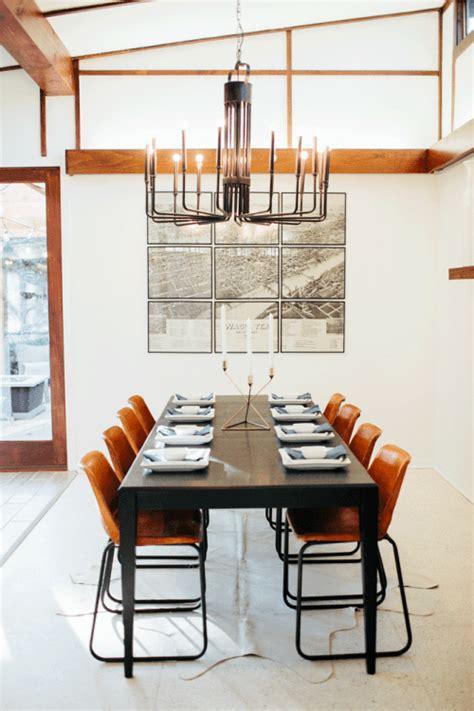 mid century modern dining room light fixture fixer season 2 episode 9 the mid century modern home