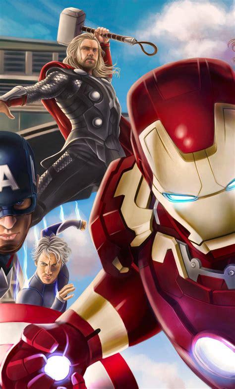 Avengers Assemble HD Wallpapers - Wallpaper Cave