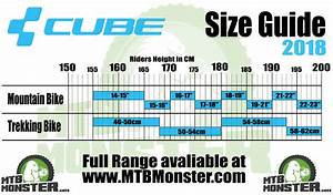 Cube Bikes Size Guide