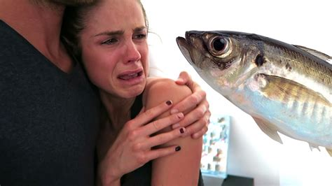 do vegetarians eat fish vegans eat fish caught on camera youtube