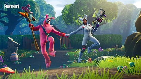 Rabbit Raider 4k 8k Hd Fortnite Battle Royale Wallpaper