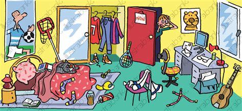 chambre ado style anglais chambre d 39 enfant en désordre illustration libre de droit