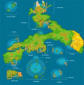 Pokemon World map 2