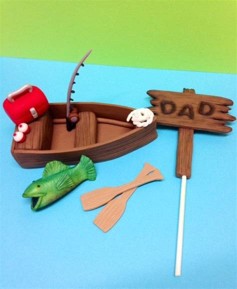 Man In Fishing Boat Cake Topper by The 25 Best Boat Cake Ideas On Pinterest Sailboat Cake