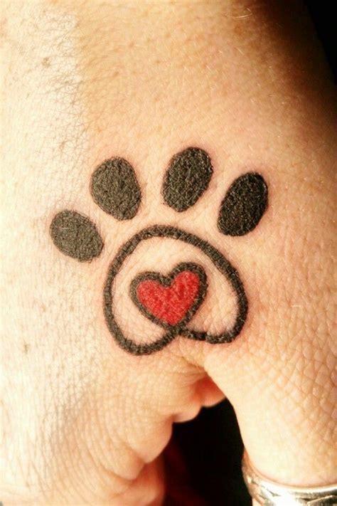 Heart Tattoo Between Thumb Index Finger