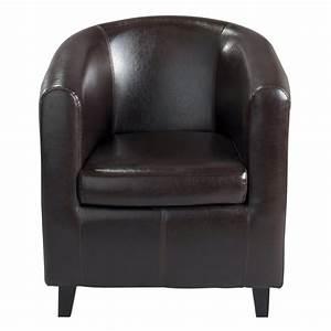 Fauteuil Suspendu Maison Du Monde : fauteuil club marron nantucket maisons du monde ~ Premium-room.com Idées de Décoration