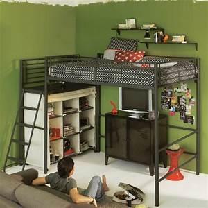 les 25 meilleures idees de la categorie lit mezzanine With idee deco cuisine avec grand lit