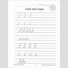 Cursive Writing Practice (ready, Set, Learn) (051854) Details  Rainbow Resource Center, Inc