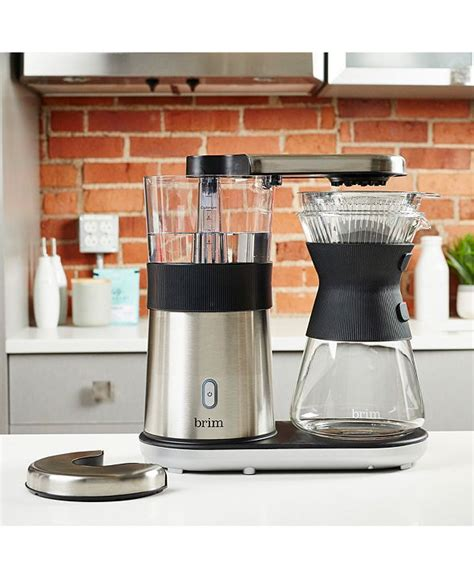 Standard drip coffee makers does not adhere to the specialty coffee association brewing standards for a gold cup standard of coffee. Brim 8-Cup Electric Pour-Over Coffee Maker & Reviews ...