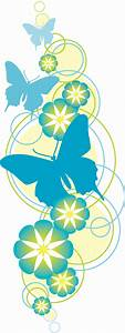 Flowers and butterflies clipart - BBCpersian7 collections