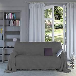 Plaid Pour Canapé : plaid gris pour canap plaid gris pour canape superbe ~ Premium-room.com Idées de Décoration
