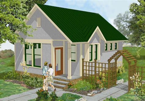 tiny cottage house plan