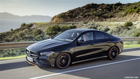 (!) prices above are at the average rate, refer to bank's terms and conditions. 2020 Mercedes-Benz CLA 250 Coupe Edition Orange Art AMG Line (Color: Cosmos Black) - Front Three ...
