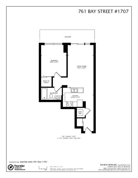 761 Bay Street Floor Plan - Zion Star