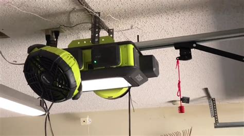 Ryobi Garage Door Opener Review Youtube