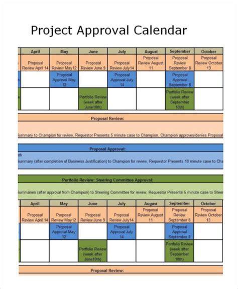 project calendar template project calendar templates 9 free word excel pdf format free premium templates