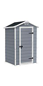 keter manor shed 6x8 keter manor pent outdoor plastic garden storage shed 6 x