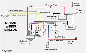 Simple Motorcycle Wiring Diagram  U2013 Moesappaloosas Com