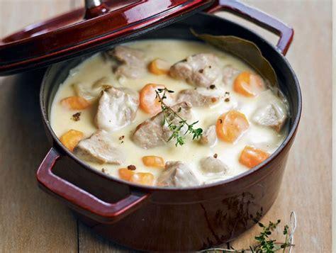 recette traditionnelle de blanquette de veau gourmand