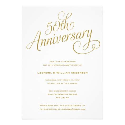 50th wedding anniversary invitation   Superdazzle   Custom Invitations & Business Cards