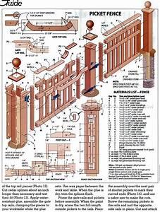 Build Picket Fence • WoodArchivist