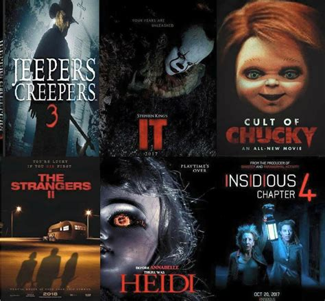Horror movies coming out this year!  Halloween & Horror